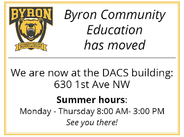 Commuity Education Office has moved